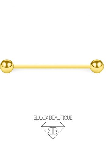 Industrial Barbell – Gold