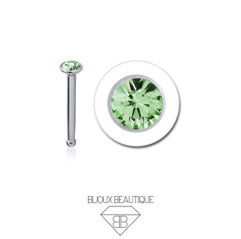 Nose Gem Stud – Green