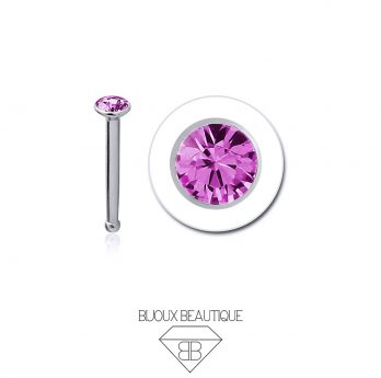 Nose Gem Stud – Pink