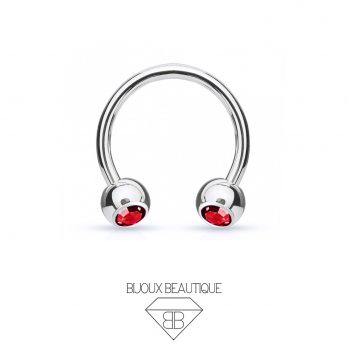 Gem Horseshoe – Red
