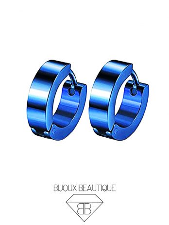 Ear Hoops Pair – Blue
